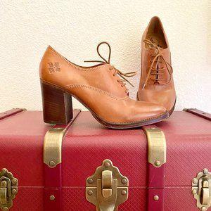 Patricia Nash Anna Italian Leather Lace Up Heels